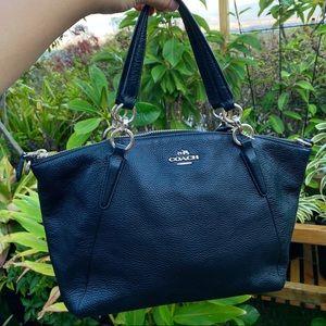 Coach Black Handbag (crossbody strap included)